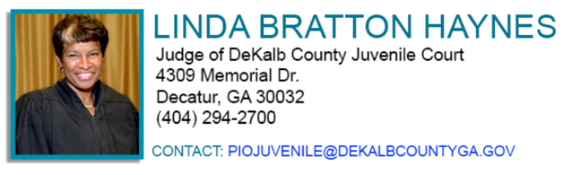 Judges | DeKalb County Juvenile Court